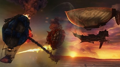 Guns of Icarus Online против Air Buccaneers