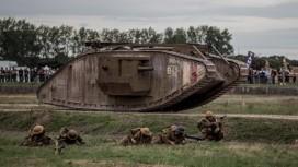 100 лет первому танку: фоторепортаж из Лондона