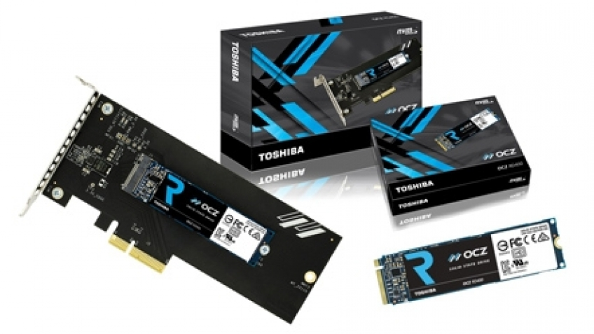 SATA умер? Тестирование накопителя SSD Toshiba OCZ RD400 на интерфейсе NVMe