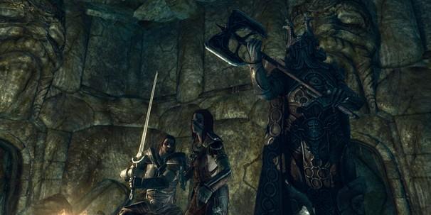 The Elder Scrolls V: Skyrim. Прохождение за Соратников