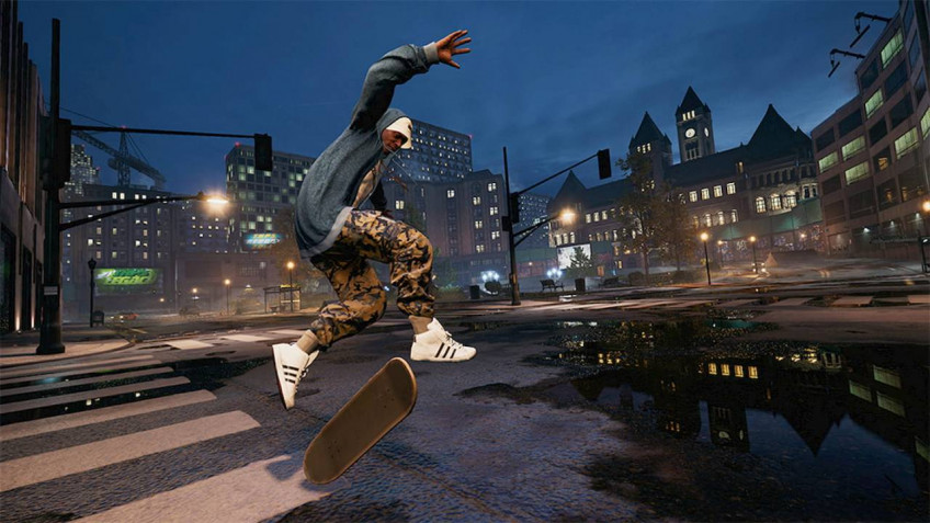 Tony Hawk's Pro Skater 1+2. Свой в доску