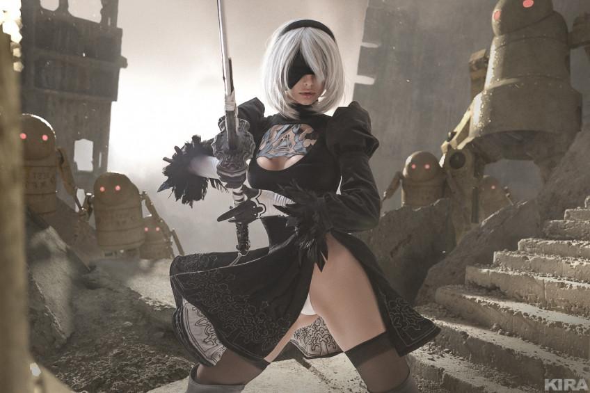 Косплей недели: NieR:Automata, Resident Evil: Village, Genshin Impact, K/DA, «Ведьмак»