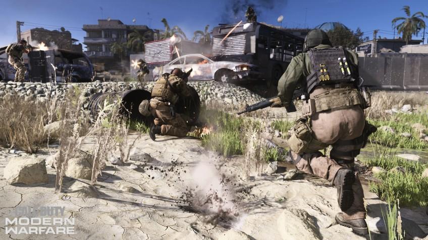 Разбираем мультиплеер Call of Duty: Modern Warfare. Камень в огород Battlefield