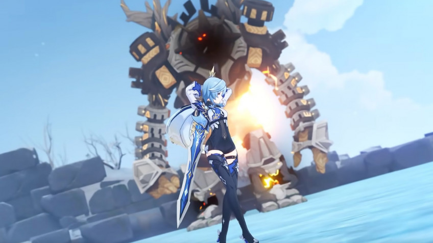 Гайд: Genshin Impact — Эола. Лучшие билды, оружие, артефакты