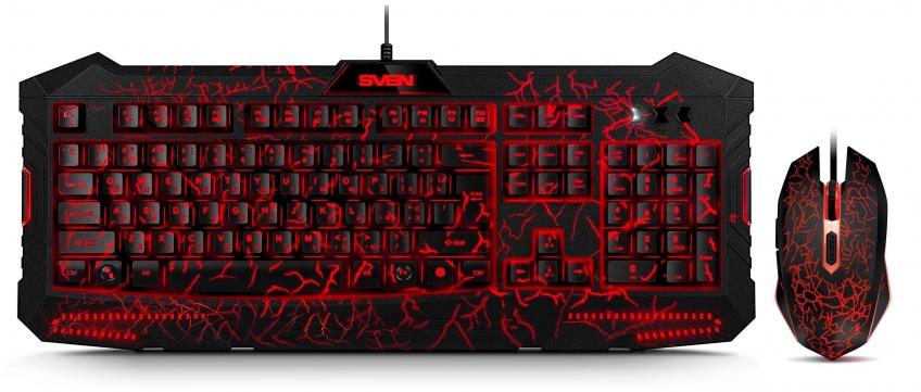 Тест набора клавиатура+мышь SVEN GS-9400. Дешево и доступно