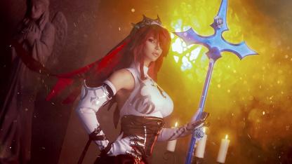 Косплей недели: Genshin Impact, Dota2, Dark Souls3, «Ведьмак 3», League of Legends