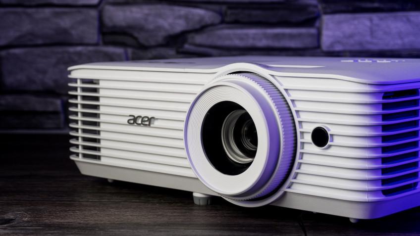 Большой тест проекторов, часть 3: бюджетные DLP, лампа и радуга — Acer H6541BD