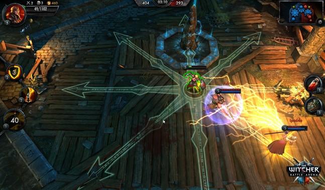 Gamescom 2014: The Witcher Battle Arena