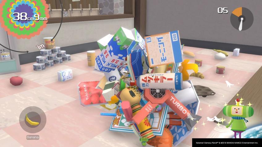 Katamari Damacy Reroll. Безумно весёлая игра про липучий шарик, не устаревшая со времён PS2