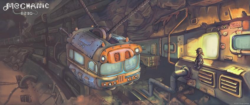 Инди месяца: Mechanic 8230 и There Is No Light. Квест на планете мутантов или пиксельный слэшер про метро?