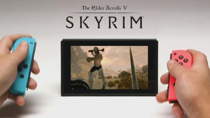 Мнение о The Elder Scrolls 5: Skyrim на Nintendo Switch. Переносной Скайрим