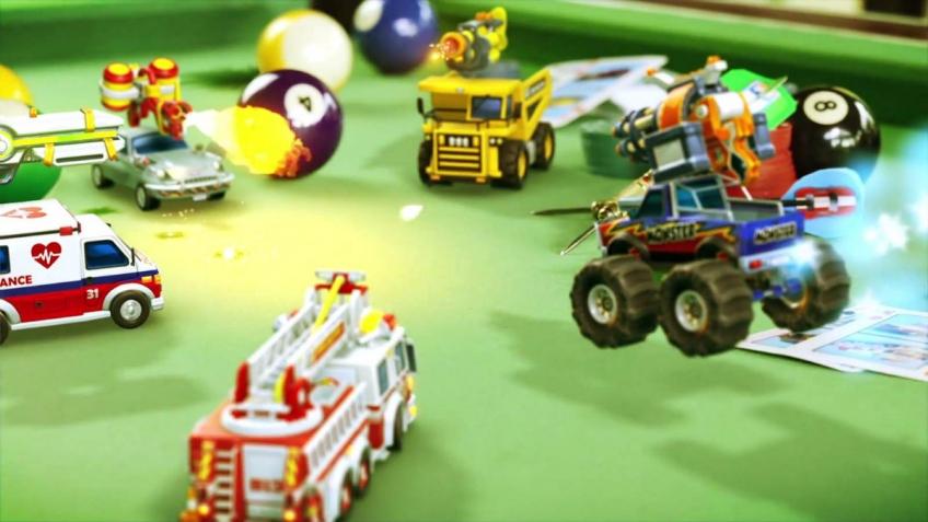 Обзор Micro Machines World Series. Гонки в миниатюре