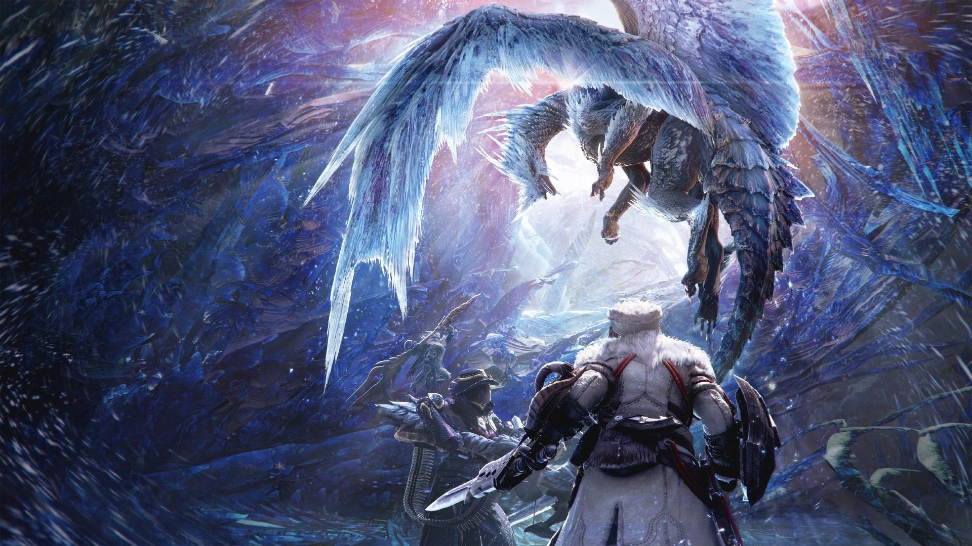 Дивный мёрзлый мир Monster Hunter World: Iceborne