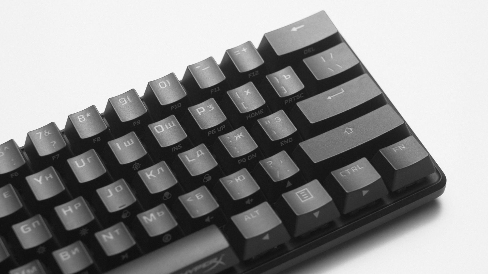 Почти как кастом. Обзор и тест клавиатуры HyperX Alloy Origins 60