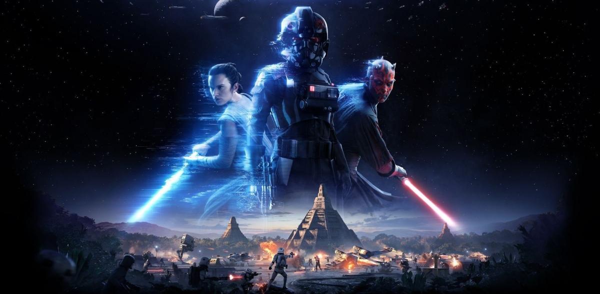 Превью Star Wars Battlefront 2. Хан Соло против Дарта Мола