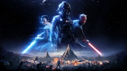 Превью Star Wars Battlefront 2. Хан Соло против Дарта Мола