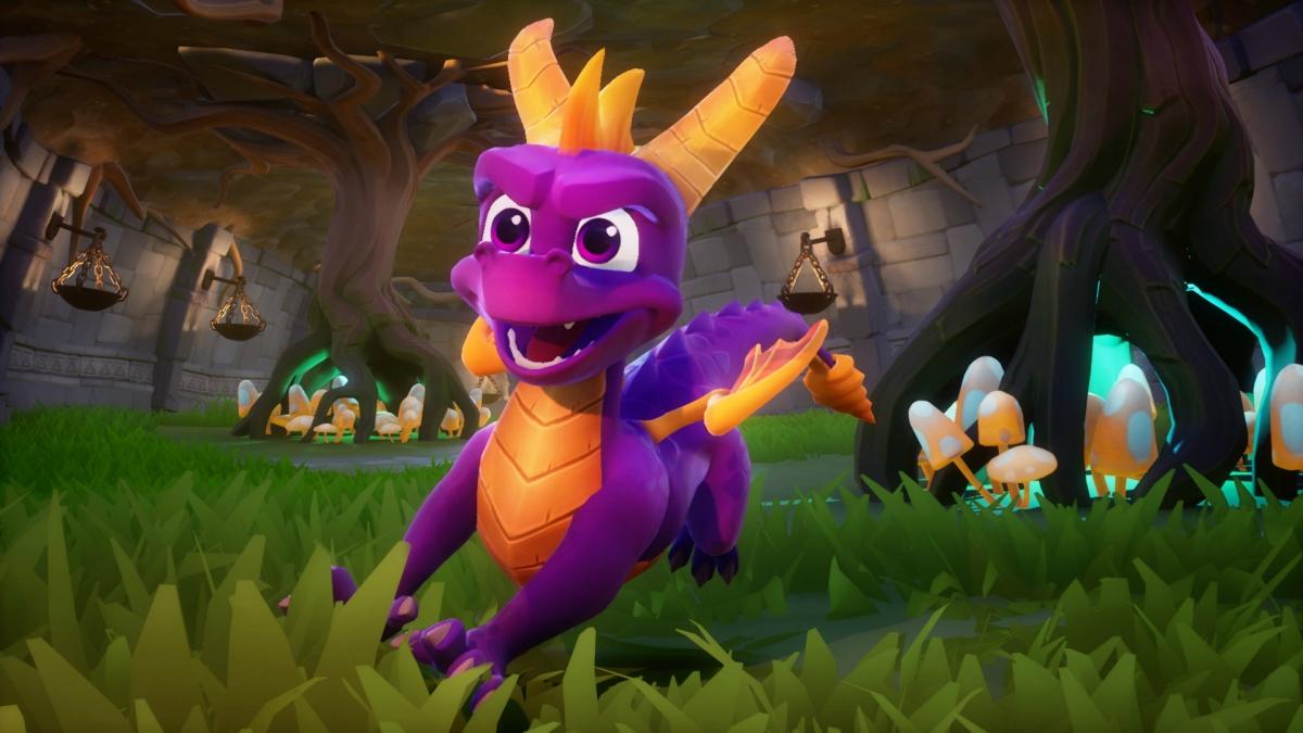 Spyro Reignited Trilogy. Пурпурный снова в моде!