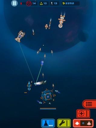 Мобильный дайджест: режем пришельцев, плетем кружева из линий, защищаем космическую базу и воруем чужую нефть