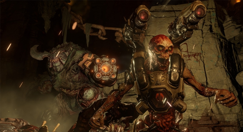 Графика года: DOOM, «Uncharted 4: Путь вора», Battlefield 1