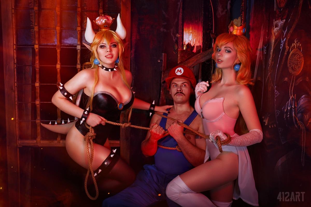 Косплей недели: Cuphead, Dead by Daylight, Mario