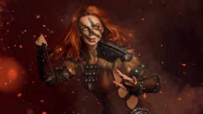 Косплей недели: Skyrim, Resident Evil Village, Assassin's Creed: Valhalla, Dota2, Genshin Impact