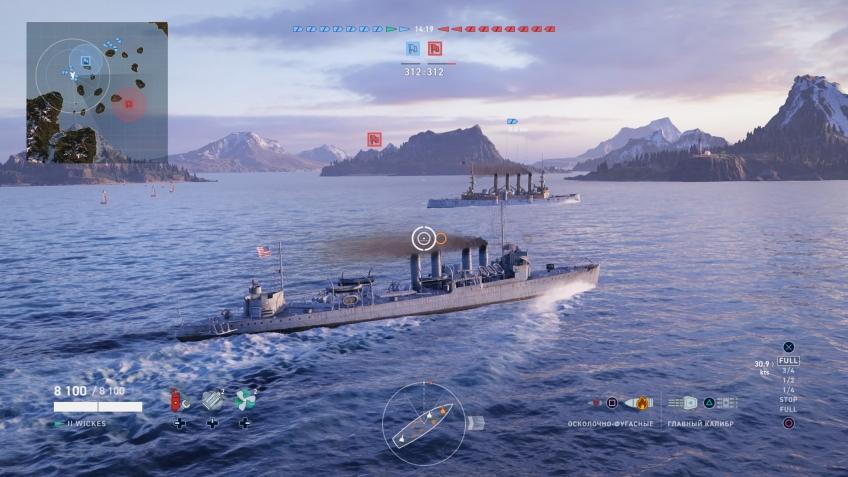 World of Warships: Legends. Адмирал ждёт сигнала