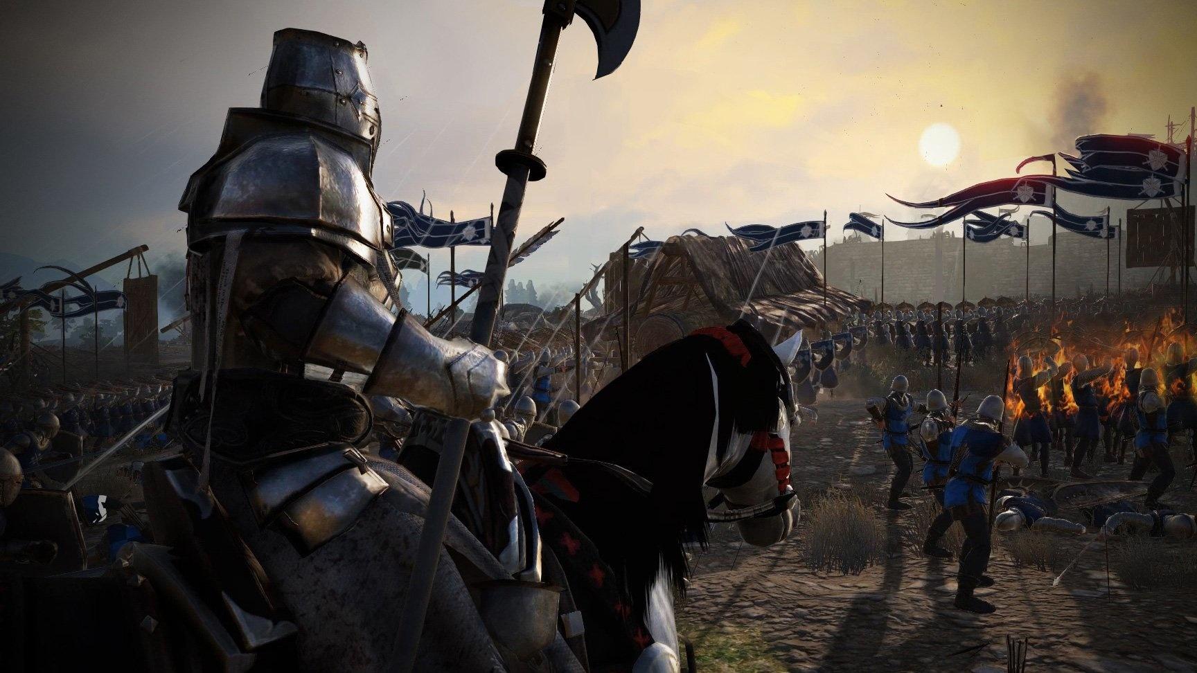 Новые отряды в Conqueror's Blade. Рыцари ордена во всей красе