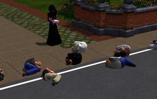 The Sims: модель для сборки