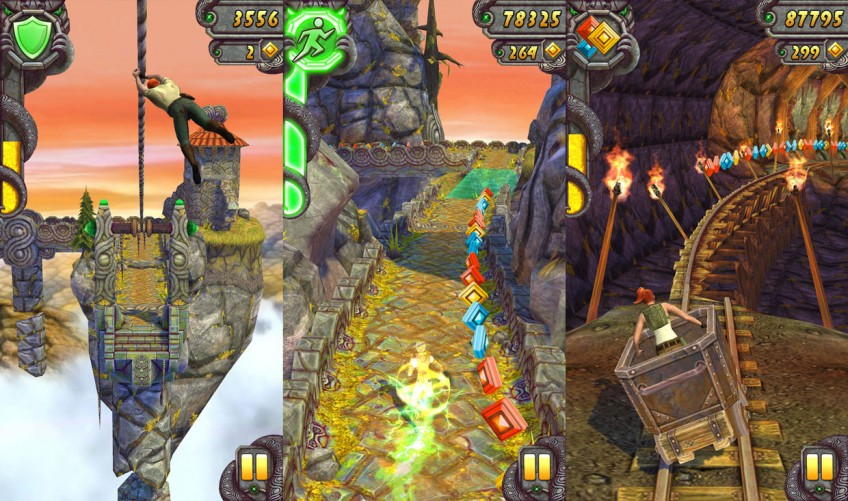 10 лучших мобильных раннеров. От Temple Run 2 и Talking Tom Hero Dash до Rayman Jungle Run и Super Mario Run