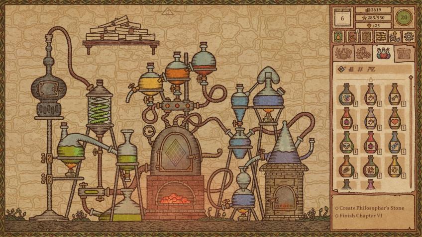 Гайд: Алхимическая машина в Potion Craft: Alchemist Simulator