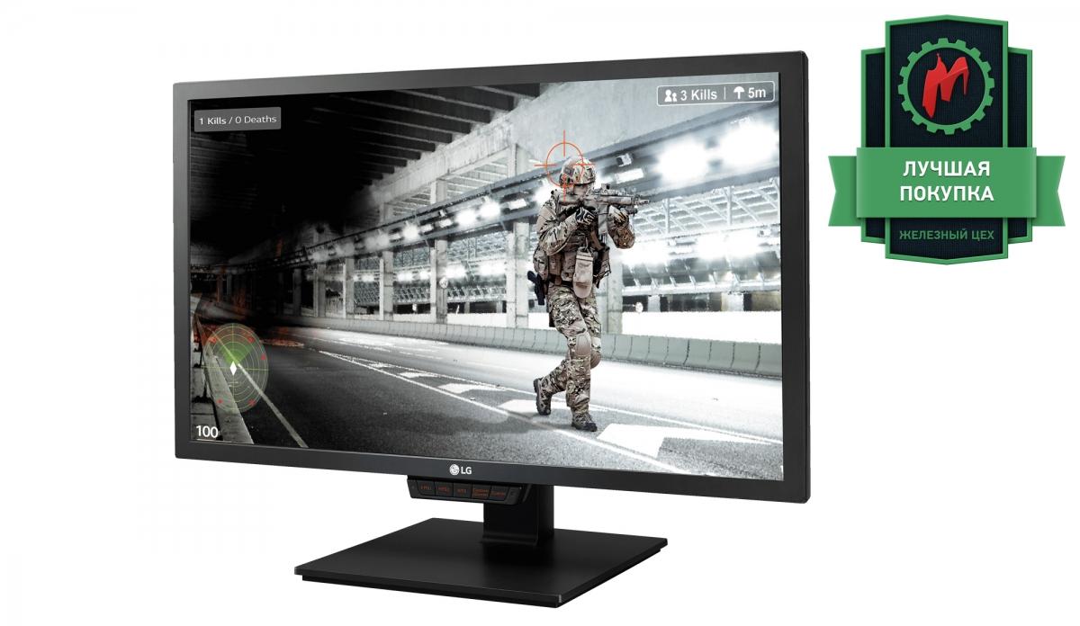 Тест LG 24GM79G-B. Доступный игровой монитор на 144 Гц