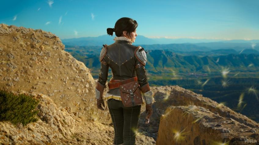 Косплей недели: Skyrim, The Witcher, LOL, Hellblade