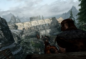 The Elder Scrolls V: Skyrim. Прохождение основного сюжета, часть первая
