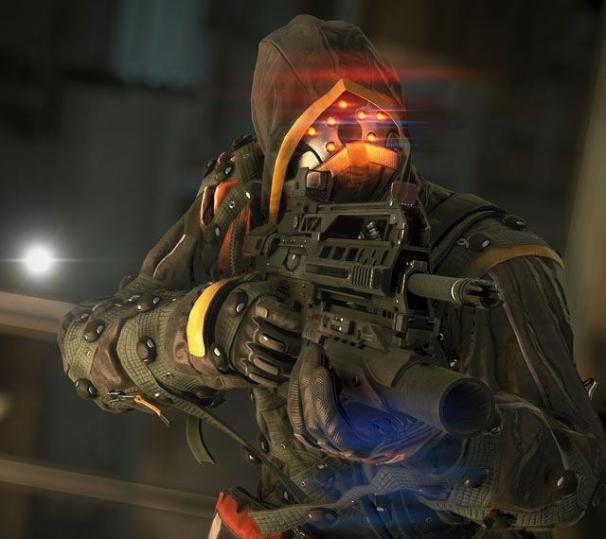 У стены красные глаза. Killzone: Shadow Fall