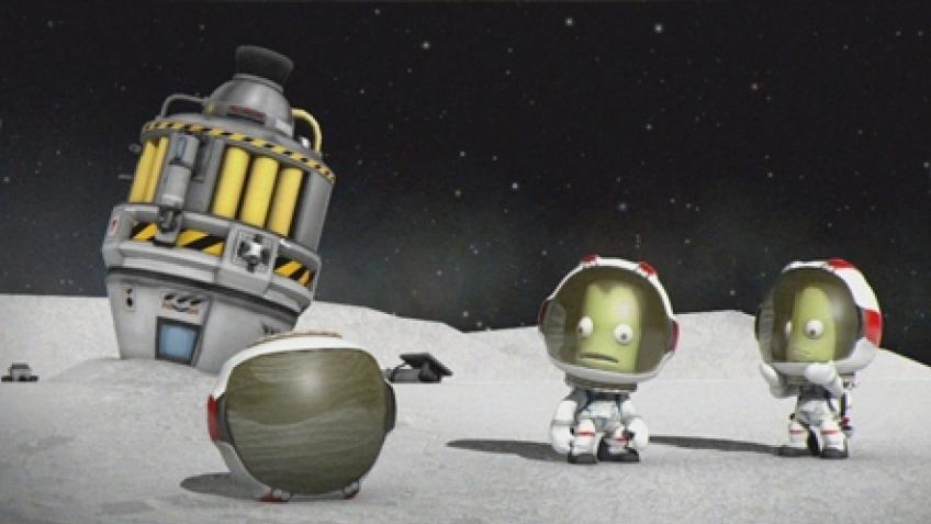 Он сказал: «Поехали!» Обзор Kerbal Space Program