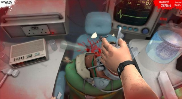 По локти в крови! Со скальпелем наперевес! Surgeon Simulator 2013