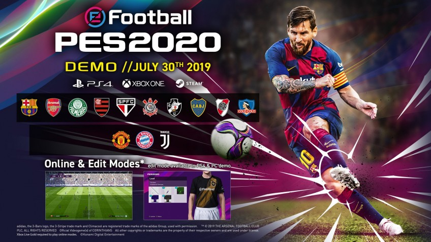 Превью eFootball PES 2020. Только вперёд