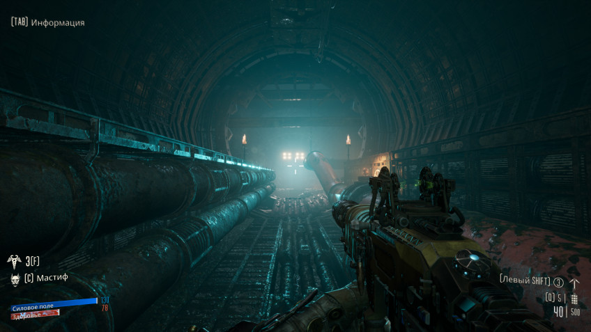 In some places, the game looks so picturesque that it's hard to believe that this is a low-budget indie shooter