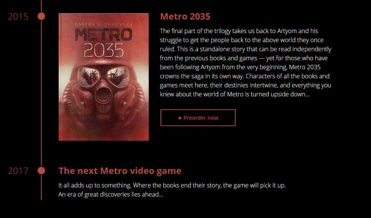 Предварительный обзор Metro: Exodus. Путешествие на поезде