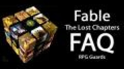 Fable: The Lost Chapters - FAQ