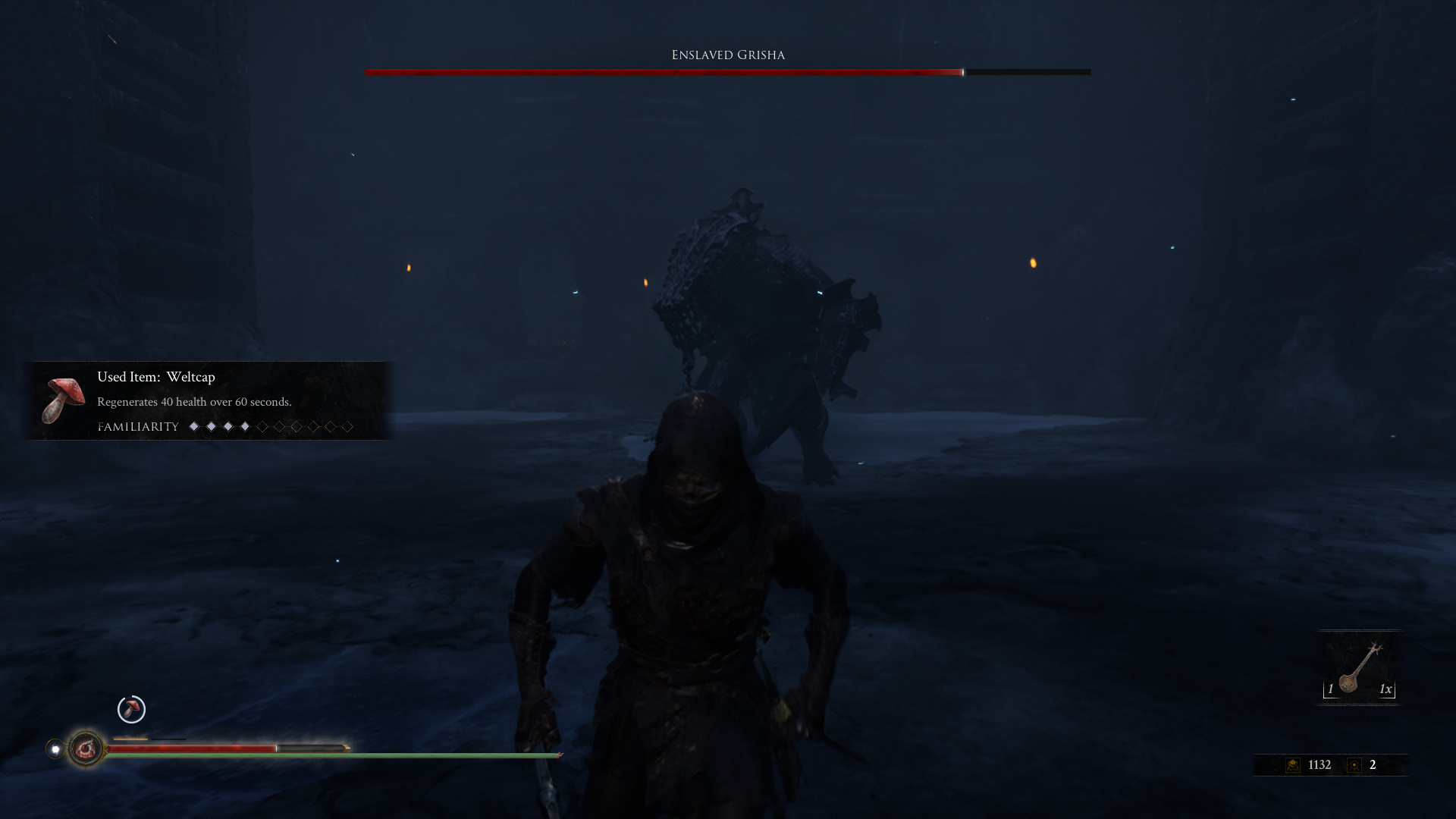 First impressions of Mortal Shell.  Very dark souls