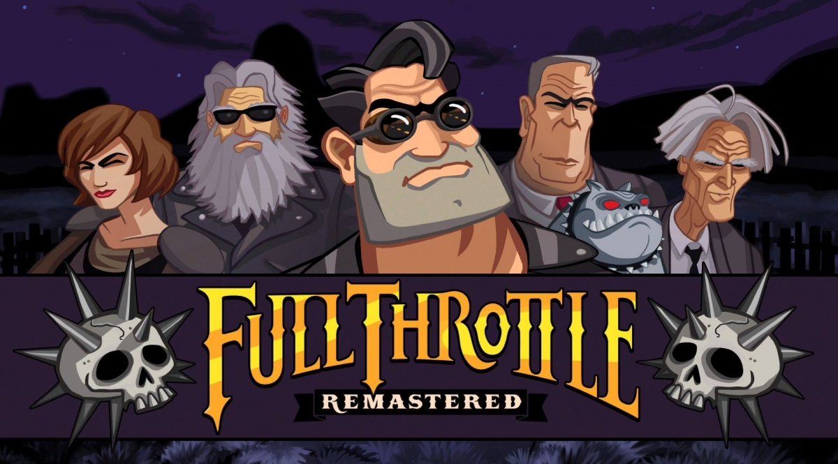 Обзор Full Throttle Remastered. Газ до отказа в HD