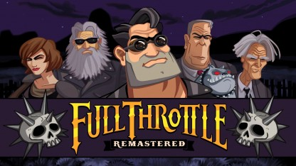 Обзор Full Throttle Remastered. Газ до отказа в HD