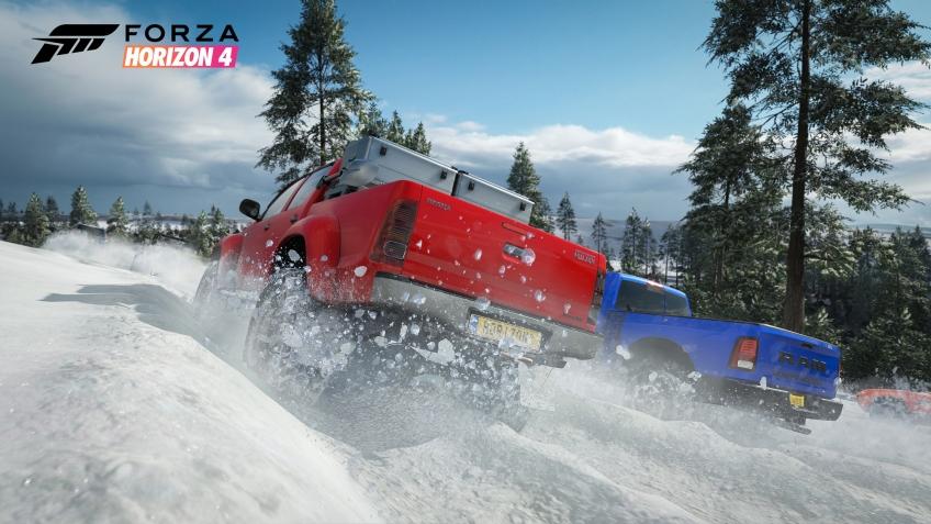 Forza Horizon 4. У Playground нет плохой погоды