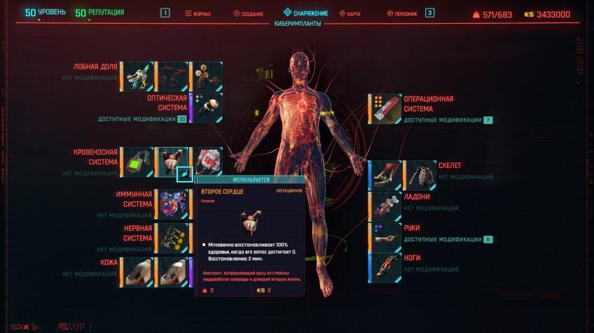 Топ-5 лучших имплантов в Cyberpunk 2077