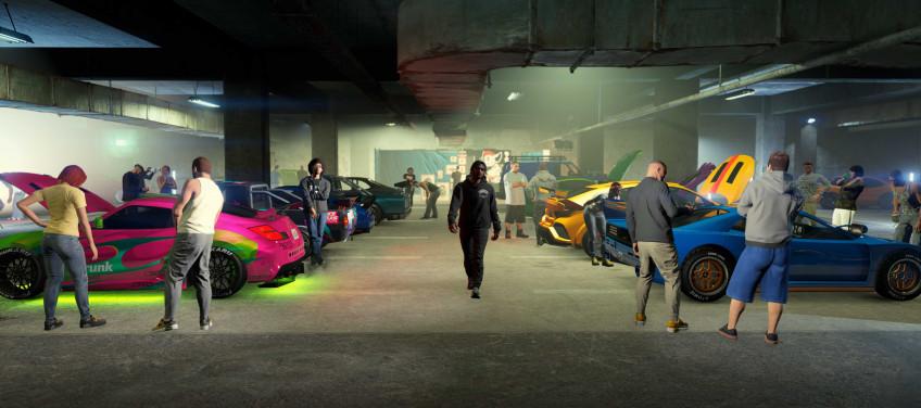 Гайд: Как быстро прокачать репутацию автоклуба в GTA Online