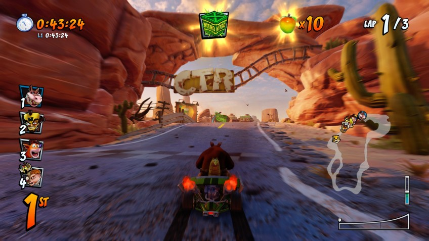 Crash Team Racing Nitro-Fueled. Новый корпус, старый двигатель