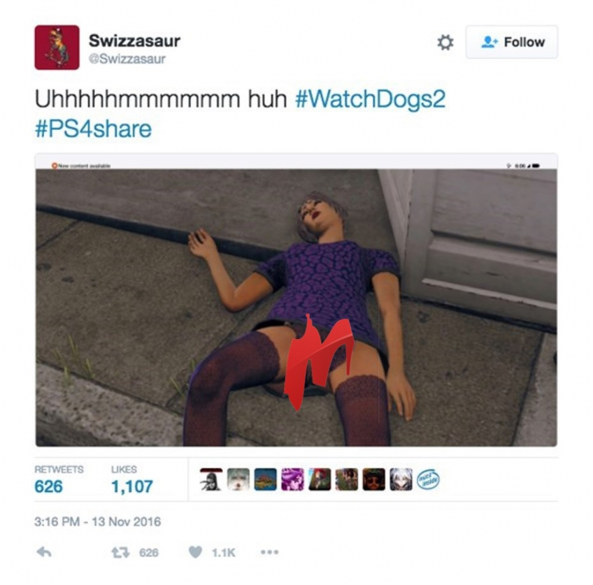 Персонаж watch dogs порно актриса