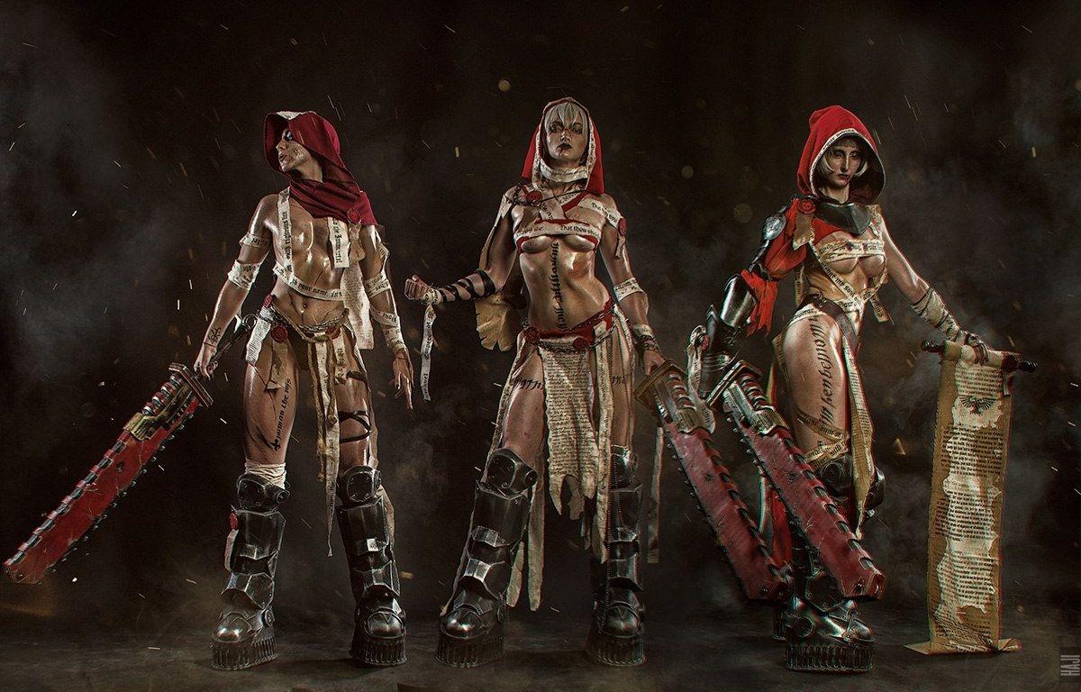 Пятничный косплей: Tekken 7, «Ведьмак 3», League of Legends, Warhammer 40,000