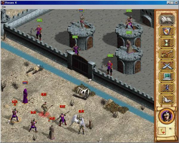 Heroes of Might and Magic IV (Герои Меча и Магии IV) — Игромания